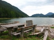 Der Salzburger Hintersee im Gemeindegebiet von Faistenau
