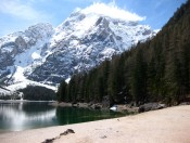 Pragser Wildsee mit dem Seekofel im Hintergrund